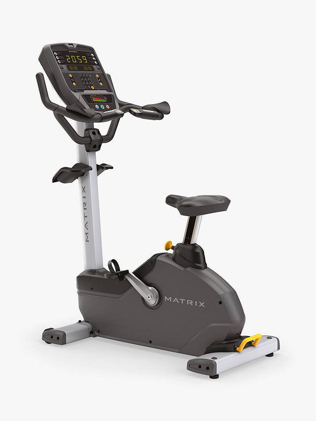 Buy Matrix Fitness Commercial U1X Upright Exercise Bike Online at johnlewis.com