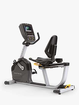 Matrix Fitness Commercial R1XE Recumbent Exercise Bike