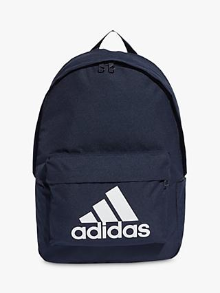 adidas Classic Big Logo Backpack, Legend Ink/White