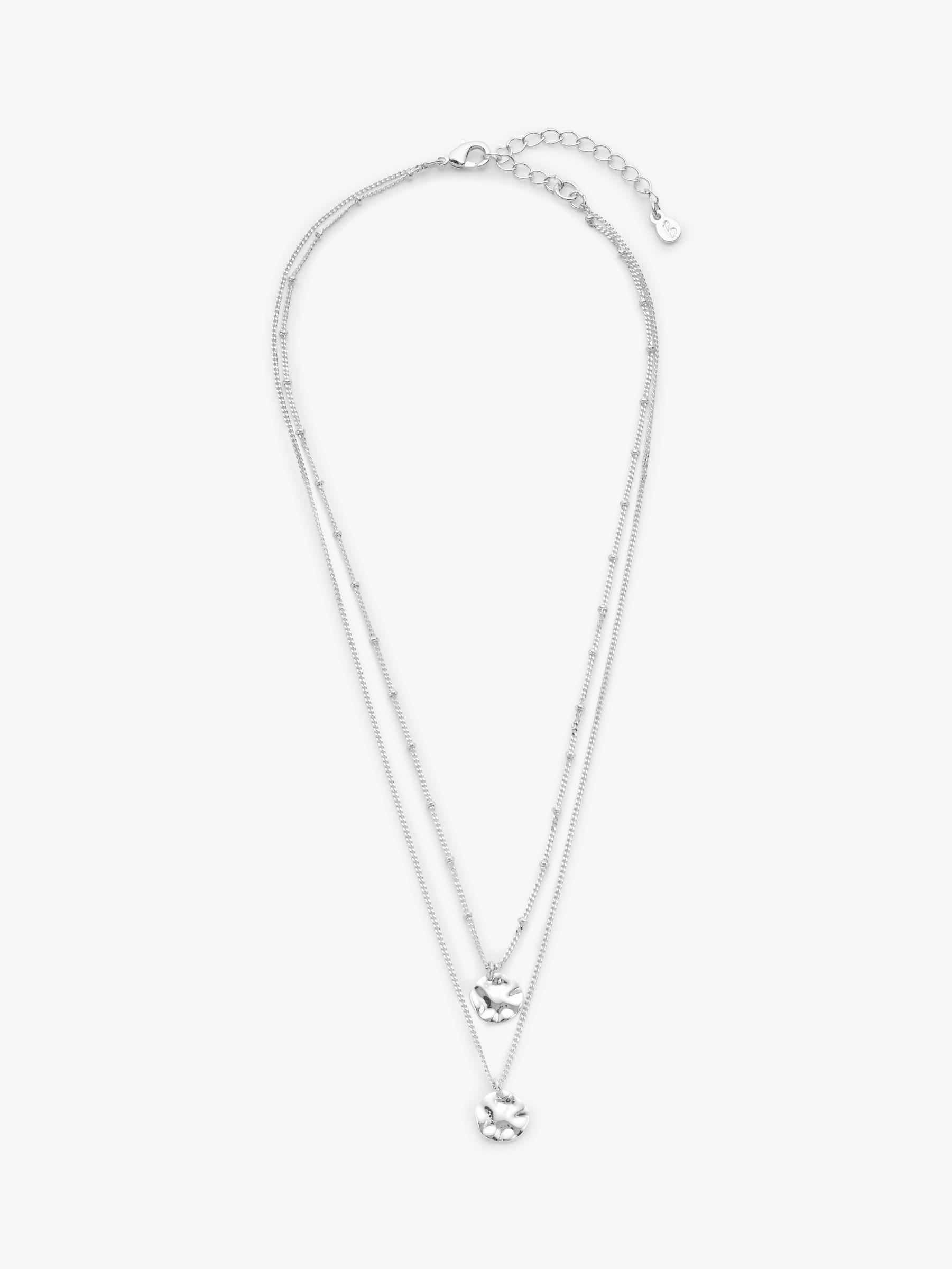 Boden Boden Demi Fine Layered Necklace, Silver