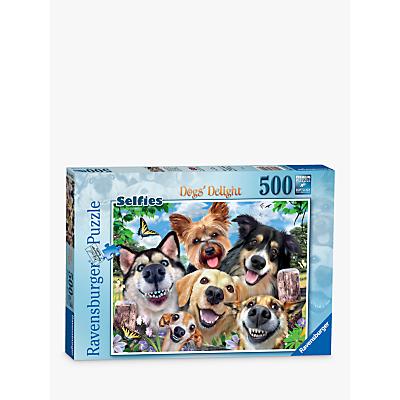 Ravensburger Selfies: Dogs Delight Jigsaw Puzzle, 500 Pieces
