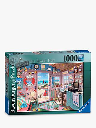 Ravensburger My Haven No 7. The Beach Hut Jigsaw Puzzle, 1000 Pieces