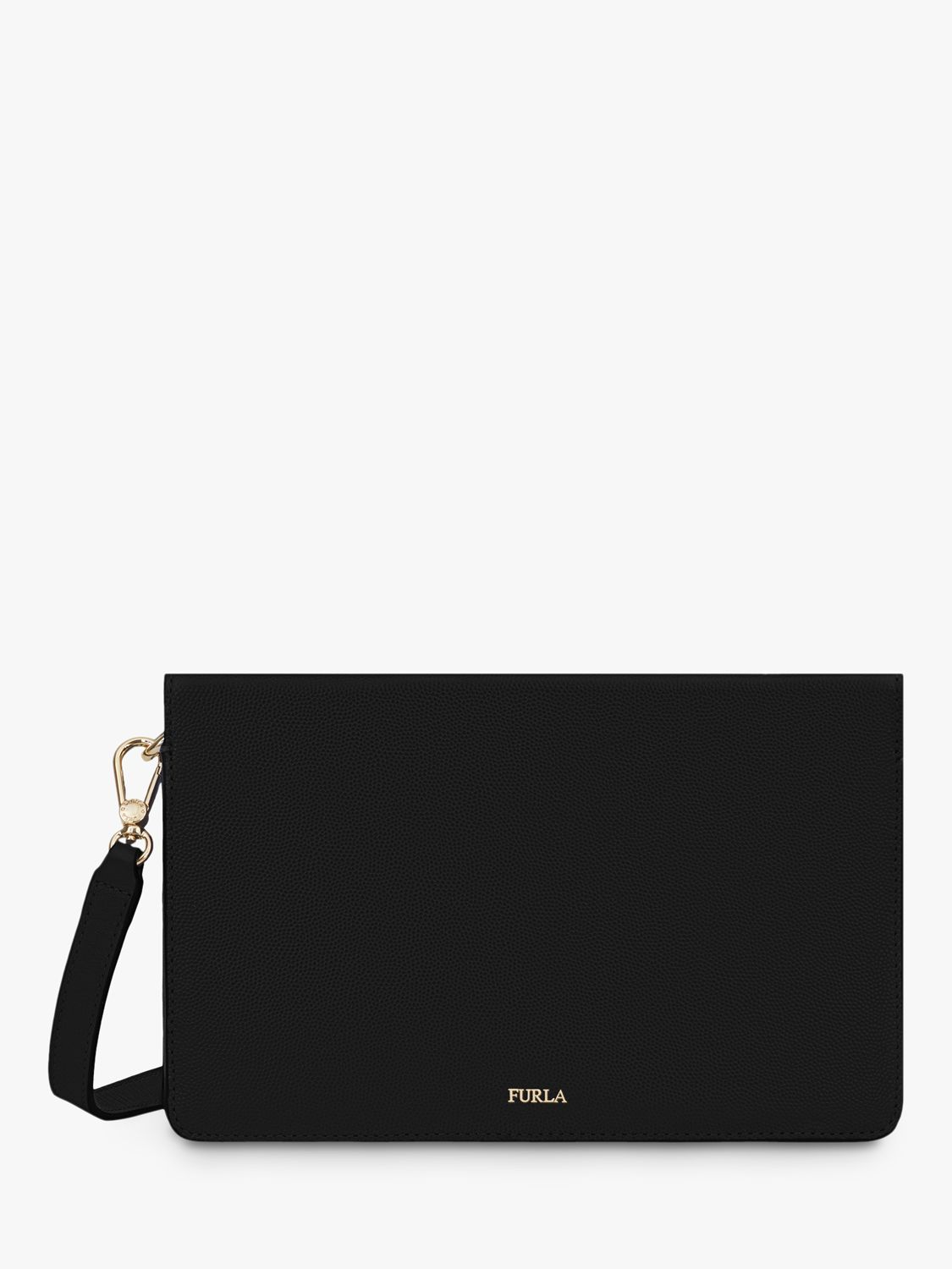 Furla Furla Babylon Leather Cross Body Bag, Black