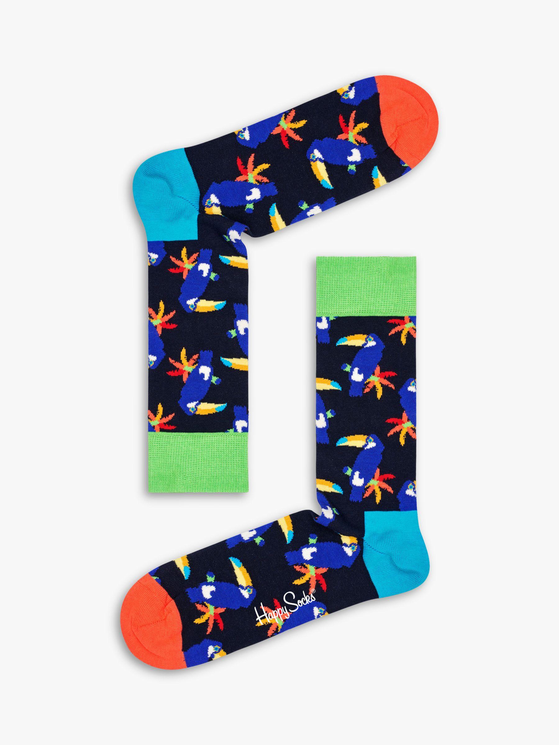 Happy Socks Happy Socks Toucan Socks, One Size, Black