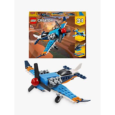 LEGO Creator 3 in1 31099 Propeller Plane - Jet - Helicopter