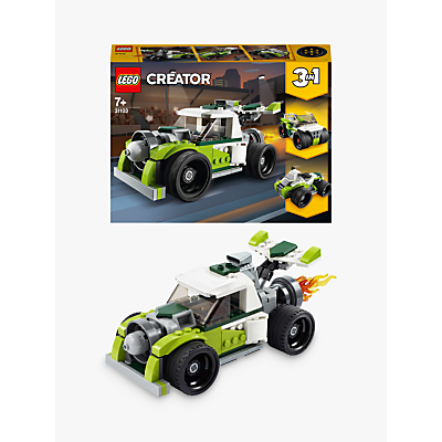 LEGO Creator 31103 3 In 1 Rocket Truck   Off Roader   Quad Bike