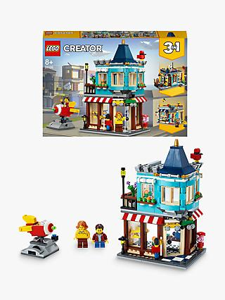 LEGO Creator 31105 3 in 1 Townhouse Toy Store - Cake Shop - Florist