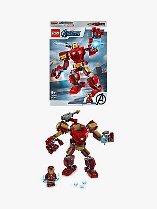 LEGO Marvel Avengers 76140 Iron Man Mech Action Figure