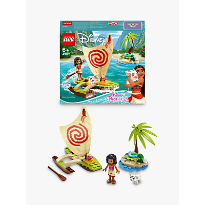 LEGO Disney Princess 43170 Moanas Ocean Adventure