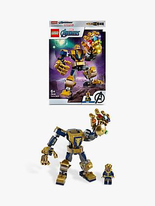 LEGO Marvel Avengers 76141 Thanos Mech Action Figure