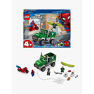 LEGO Marvel Spider Man 76147 Vultures Trucker Robbery