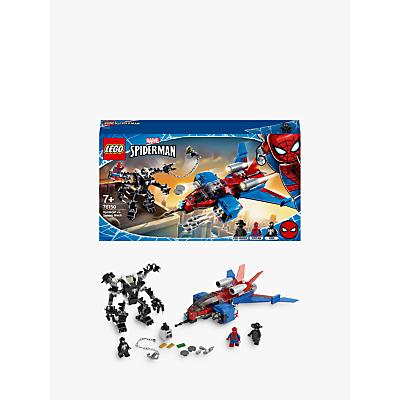LEGO Marvel Spider Man 76150 Spider Man Jet Vs. Venom Mech