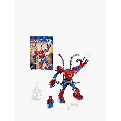 LEGO Spider Man 76146 Spider Man Mech Action Figure