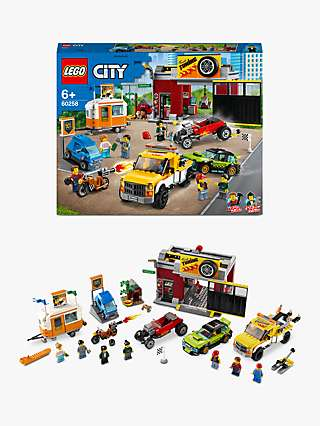 LEGO City 60258 Turbo Wheels Tuning Workshop