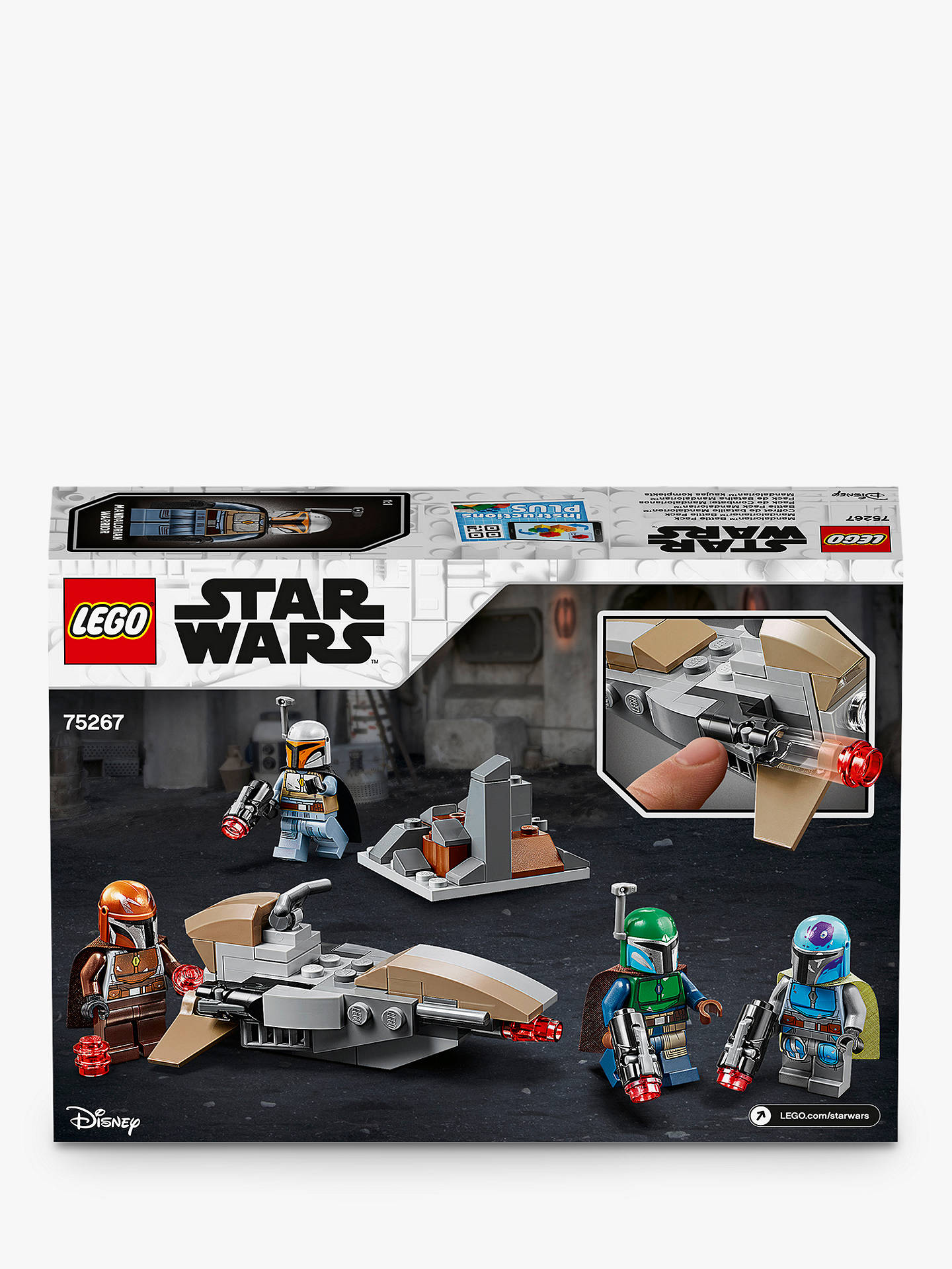 Pour lego minifigures Mandalorien Star Wars-This Is the Way 3 Pack