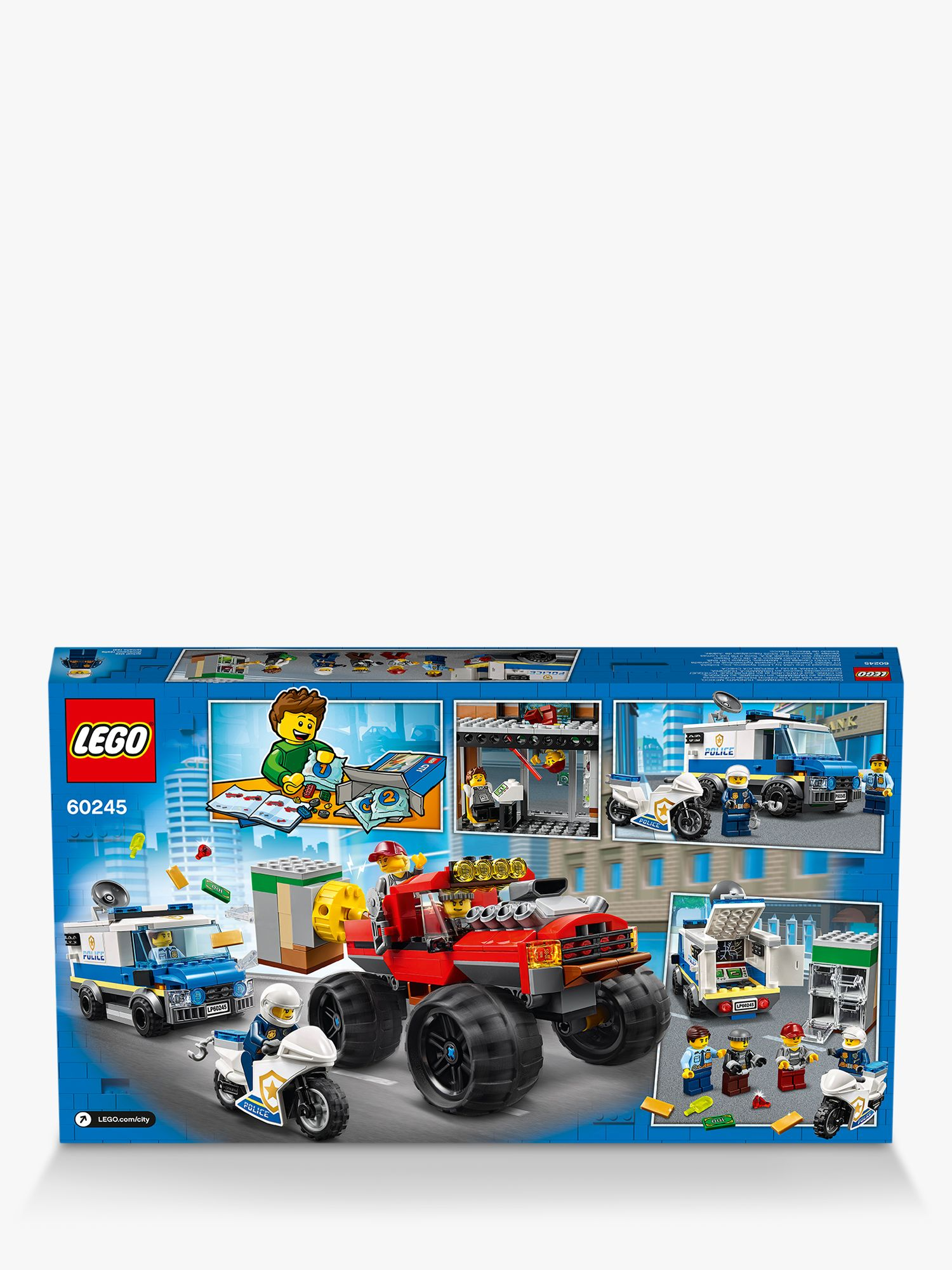 Lego City 60245 Police Monster Truck Heist At John Lewis Partners