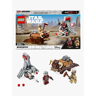 LEGO Star Wars 75265 T 16 Skyhopper Vs Bantha Microfighters