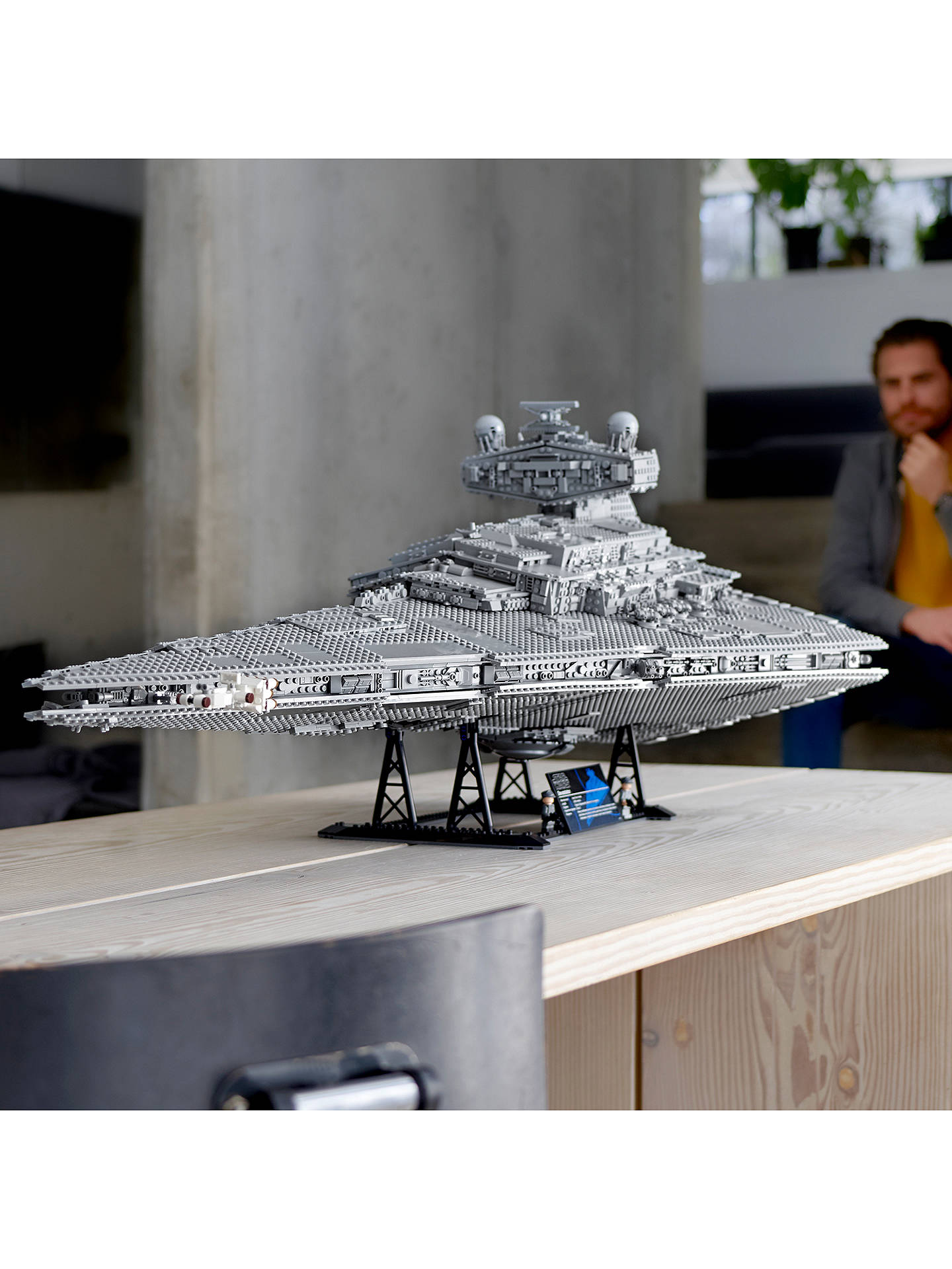 Buy LEGO Star Wars 75252 Imperial Star Destroyer Online at johnlewis.com