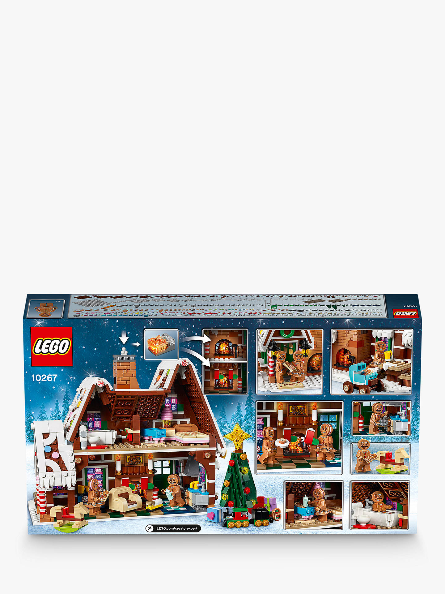 NEW LEGO Gingerbread Baby Infant 10267 NEW