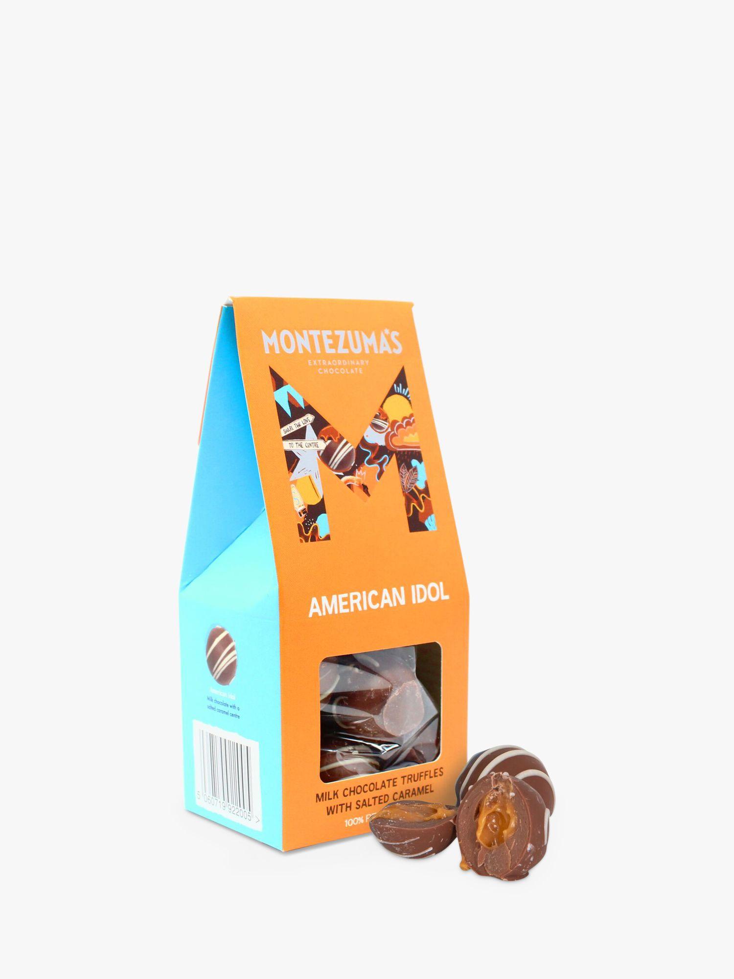 Montezuma's Montezuma's American Idol Milk Chocolate and Salted Caramel Truffles, 120g