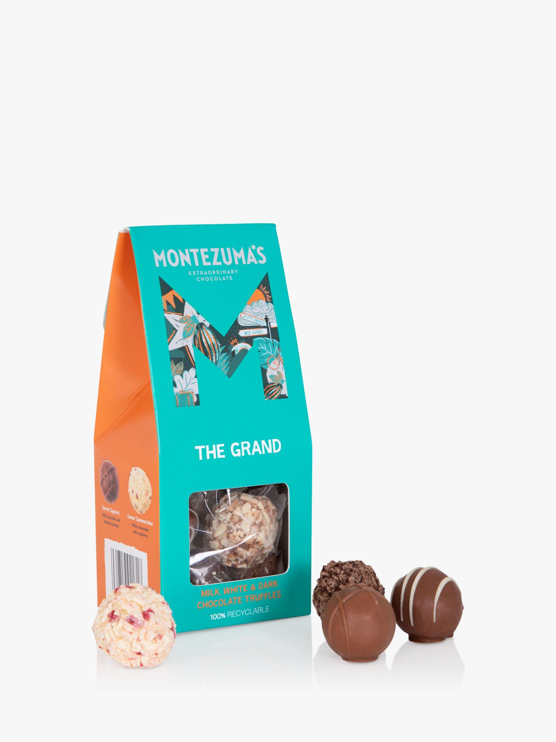 Montezuma's Montezuma's The Grand, Milk, White and Dark Chocolate Truffle Carton, 120g