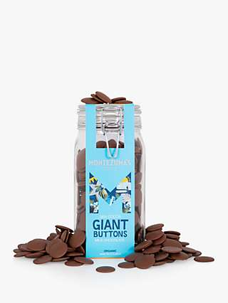 Montezuma's Organic Milk Chocolate Giant Button Jar, 900g