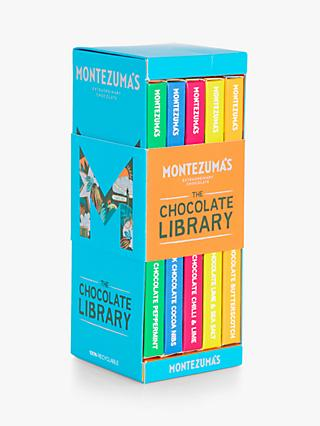 Montezuma's Chocolate Bar Library, 5 Flavours, 450g