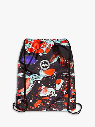 Hype Children's Marble Drawstring Backpack, Multi