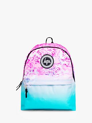 Hype Children's Rose Fade Backpack, Pink/Blue