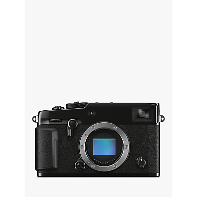 Fujifilm X-Pro 3 Compact System Camera, 4K Ultra HD, 26.1MP, Wi-Fi, Bluetooth, EVF, OVF, 3 LCD Tilting Touch Screen, Body Only, Black