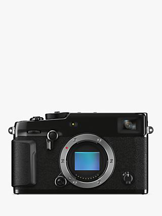 "Fujifilm X-Pro 3 Compact System Camera, 4K Ultra HD, 26.1MP, Wi-Fi, Bluetooth, EVF, OVF, 3"" LCD Tilting Touch Screen, Body Only, Black"
