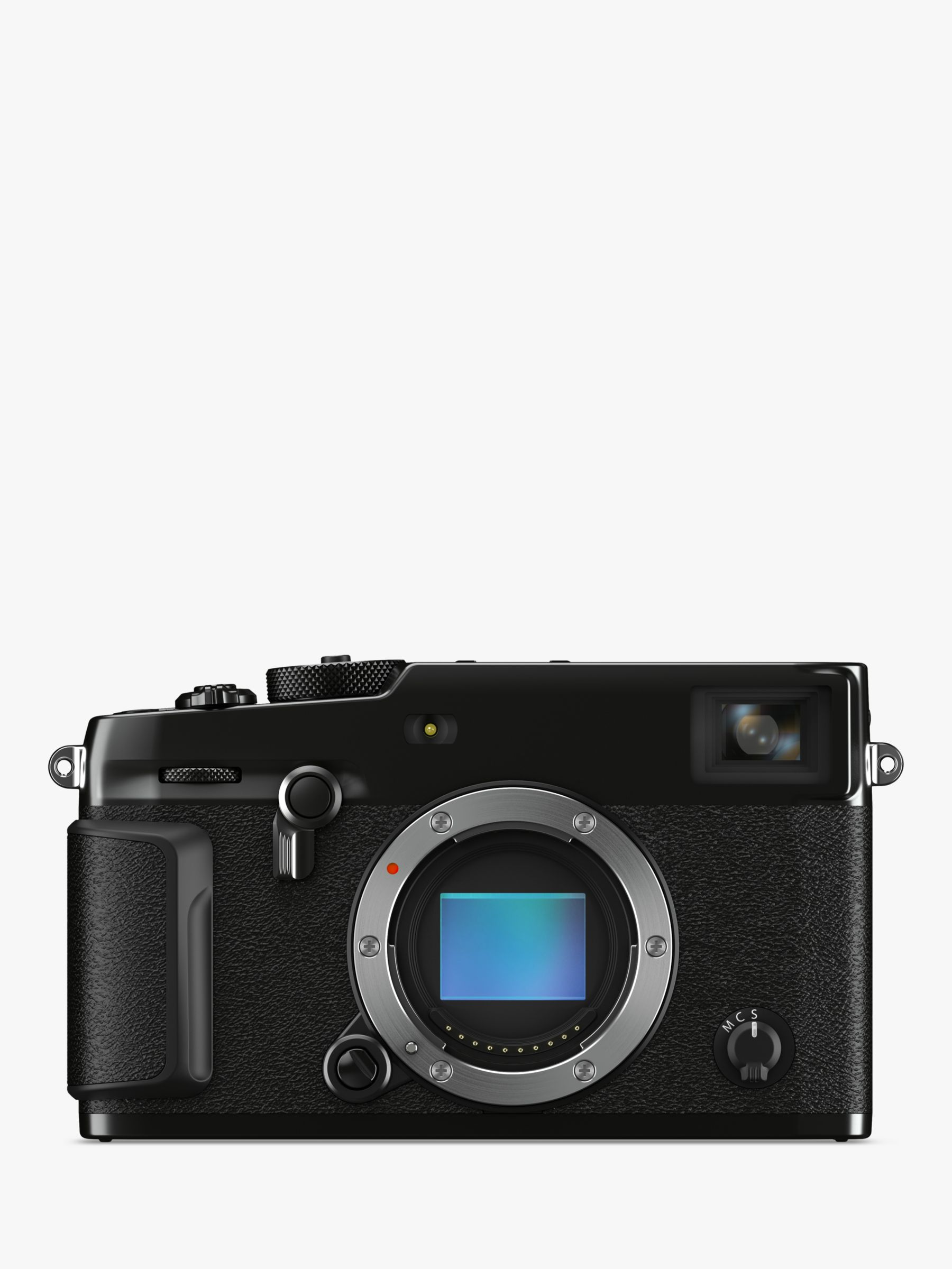 Fujifilm Fujifilm X-Pro 3 Compact System Camera, 4K Ultra HD, 26.1MP, Wi-Fi, Bluetooth, EVF, OVF, 3 LCD Tilting Touch Screen, Body Only, Black