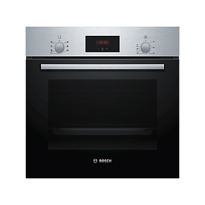 Image of Bosch HBF113BR0B Multifunction Built-Under Single Oven, A Energy Rating, Black/Stainless Steel