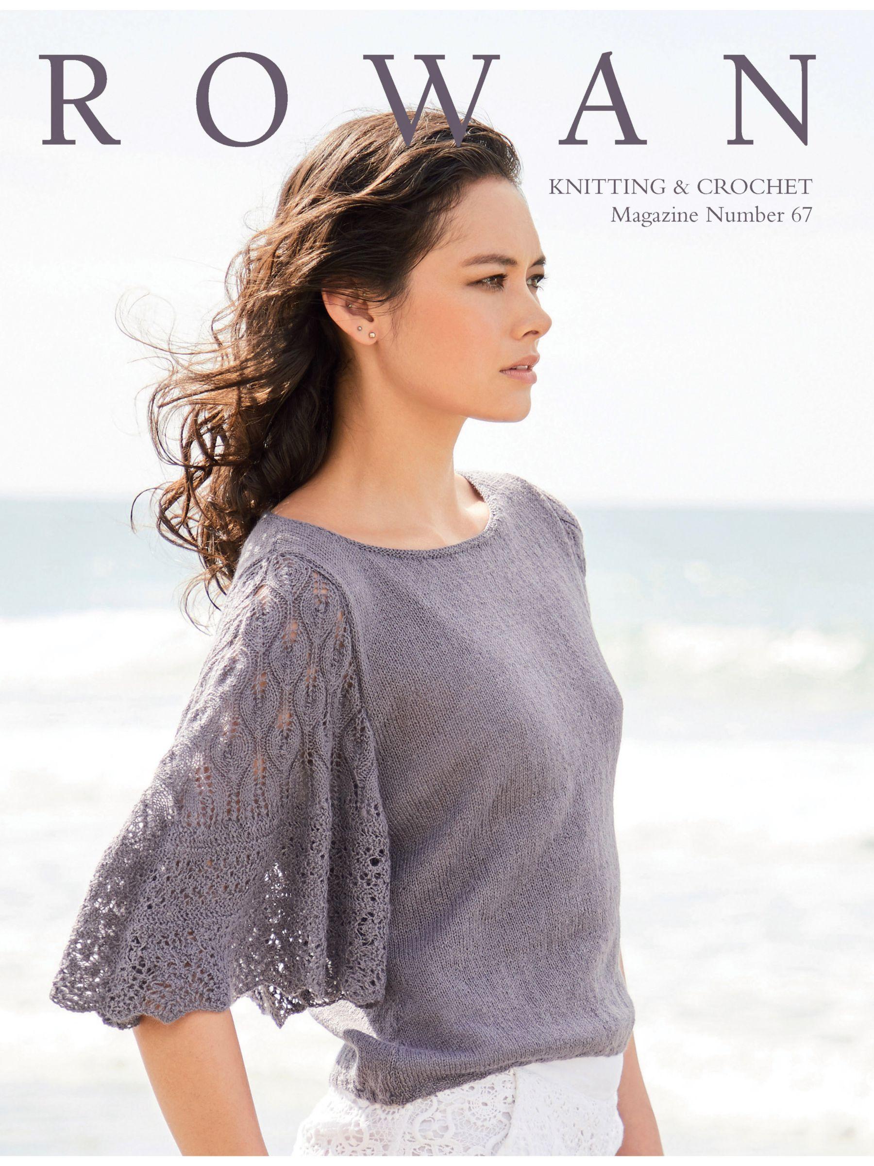Rowan Rowan Knitting and Crochet Pattern Magazine 67