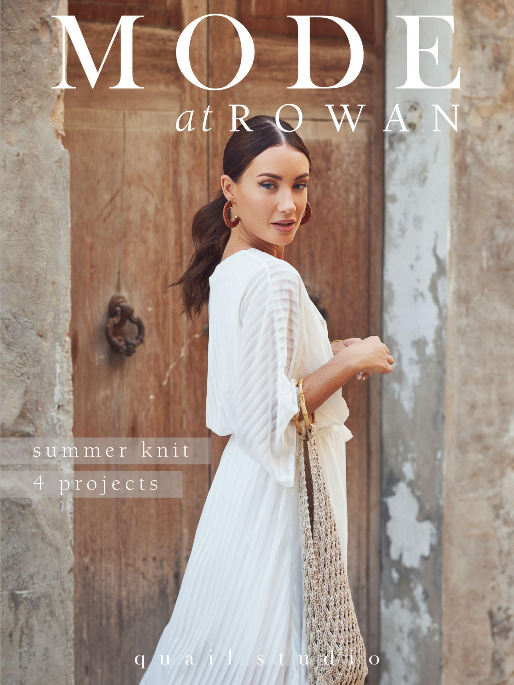 Rowan Rowan Mode at Rowan Summer Knit Project Magazine