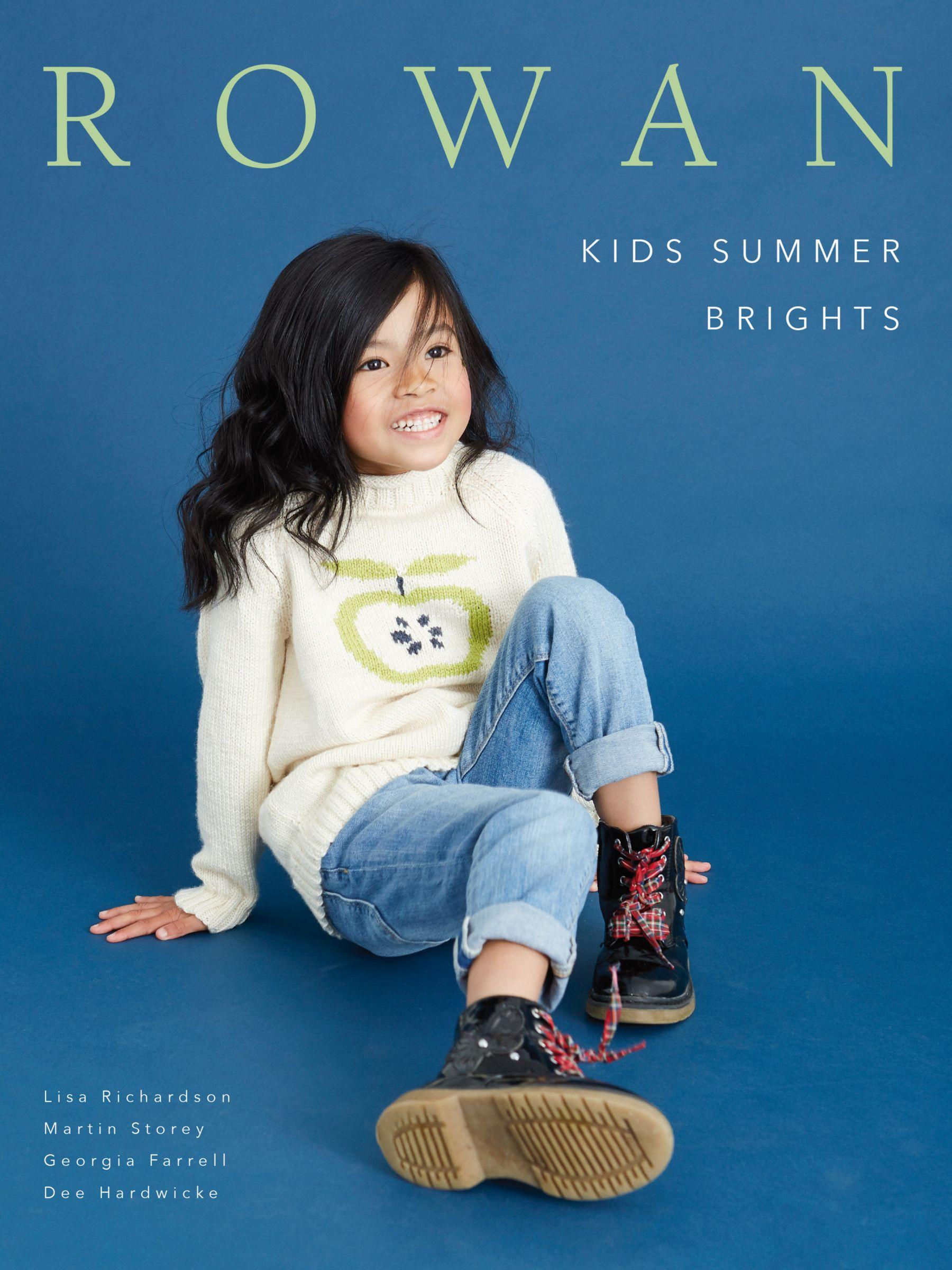 Rowan Rowan Kids Summer Brights Knitting Pattern Book