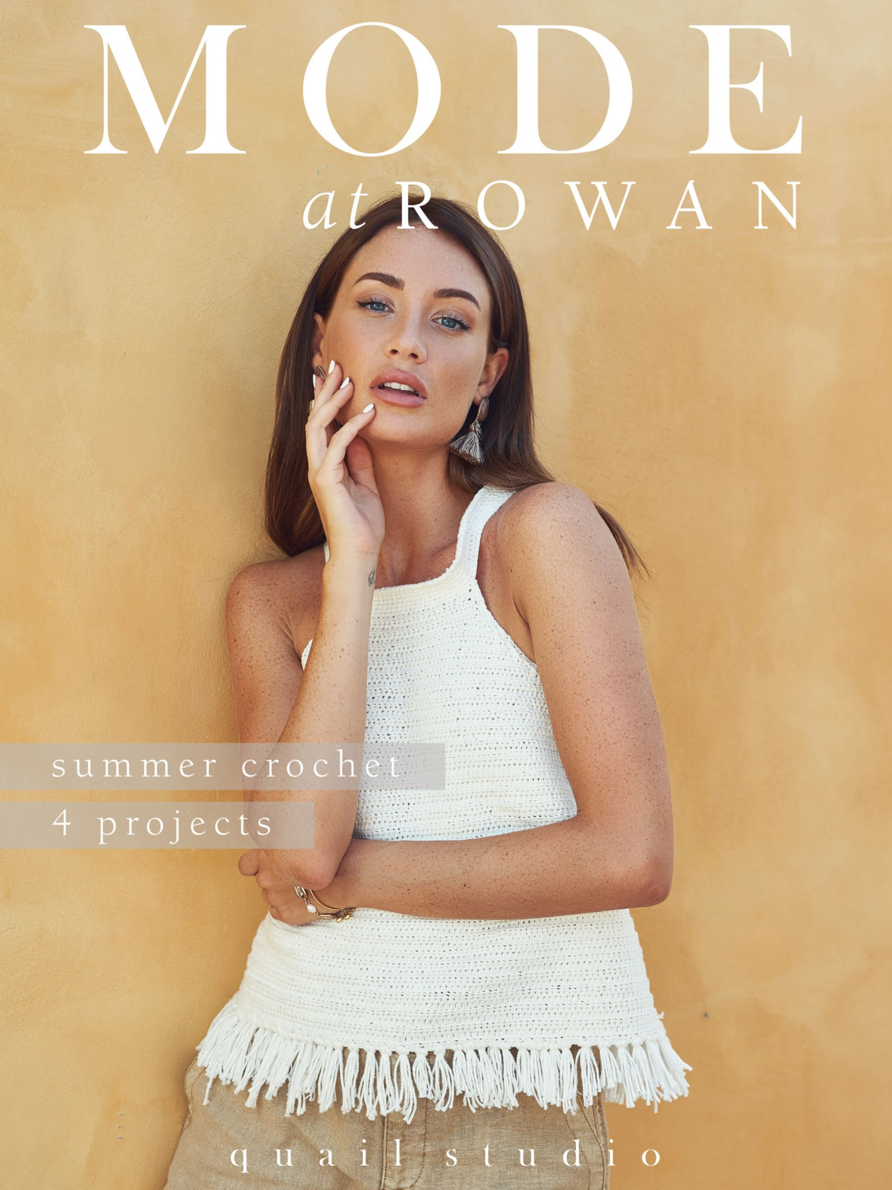 Rowan Rowan Mode at Rowan Summer Crochet Project Magazine