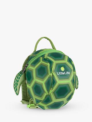 LittleLife Toddler Turtle Backpack, Green