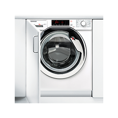 Image of Hoover HBWMO 96TAHC-80 Integrated Washing Machine, 9kg Load, A+++ Energy Rating, 1600rpm, White