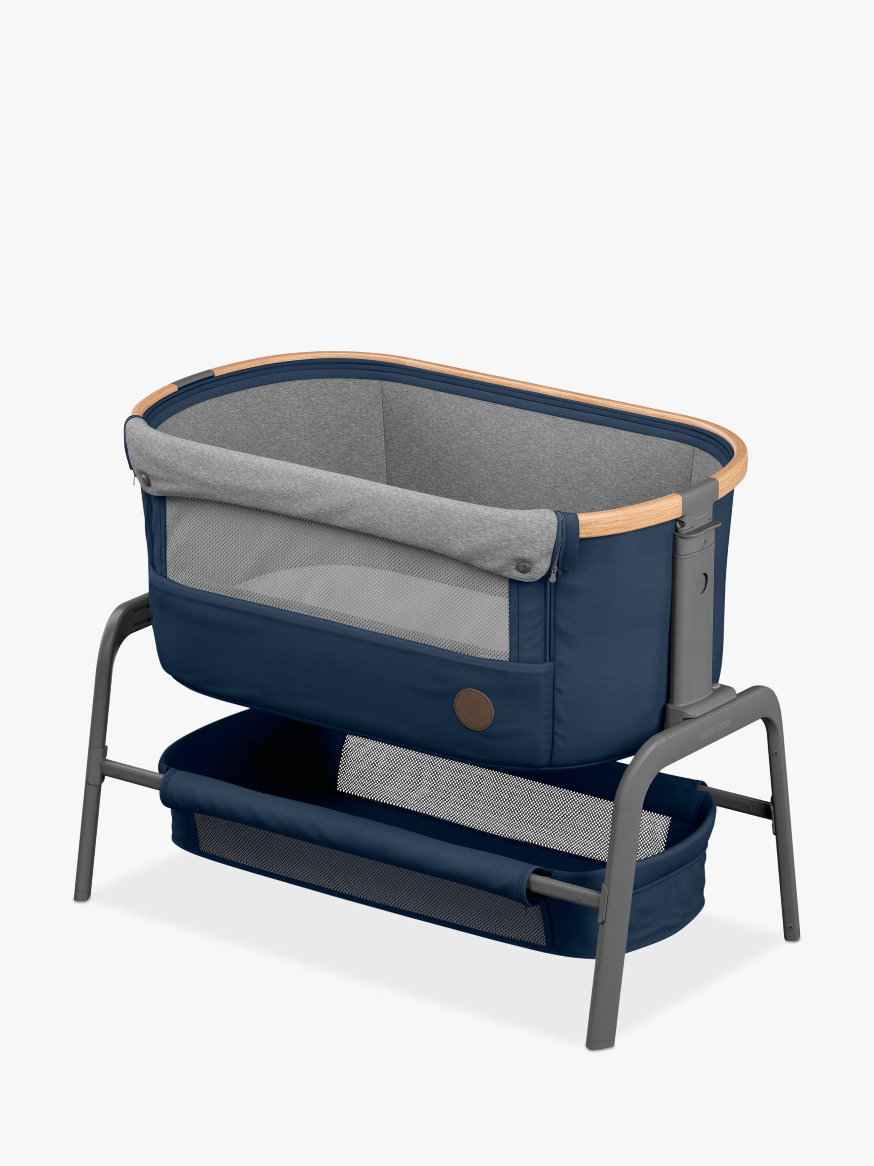 Maxi-Cosi Maxi-Cosi Iora Co-Sleeper Bedside Crib, Essential Blue