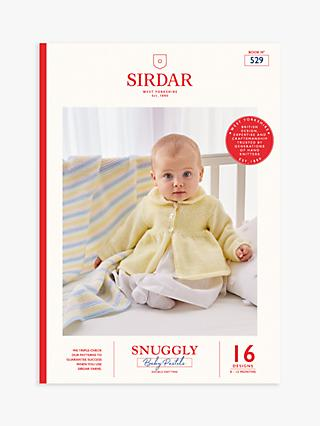 Sirdar Snuggly Pastels Baby Knitting Pattern Book, 529