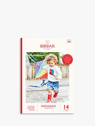Sirdar Snuggly Brights Children's Clothing Knitting Pattern Book, 540