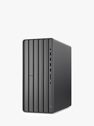 HP ENVY TE01-0008na Desktop PC, Intel Core i7, 8GB RAM, 2TB HDD + 256GB SSD, NVIDIA GeForce GTX 1660 Ti, Nightfall Black