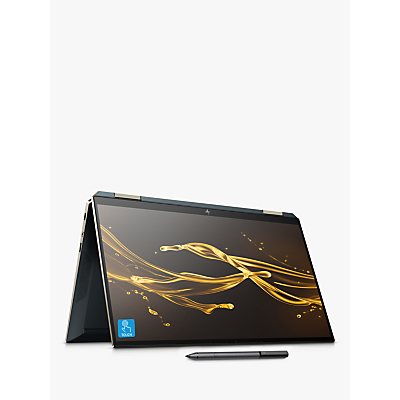 Image of HP Spectre x360 13-aw0117na Convertible Laptop with HP Tilt Pen Stylus, Intel Core i7, 8GB RAM, 512GB SSD, 13.3 Full HD, Poseidon Blue