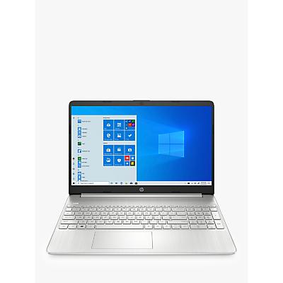 Image of HP 15s-eq0004na Laptop, AMD Ryzen 3, 4GB RAM, 128GB SSD, 15.6 Full HD, Natural Silver