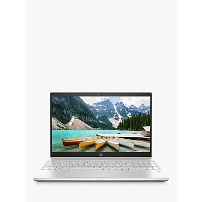 Image of HP 15-cs0040na Laptop, Intel Pentium Processor, 4GB RAM, 256GB SSD, 15.6 Full HD, Natural Silver