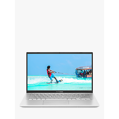 Image of ASUS VivoBook 14 X412FA-EK867T Laptop, Intel Core i3 Processor, 4GB RAM, 128GB SSD, 14 Full HD, Transparent Silver