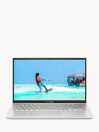 Asus Vivobook 14 X412fa Ek867t Laptop Intel Core I3 Processor 4gb Ram 128gb Ssd 14 Full Hd Transparent Silver At John Lewis Partners