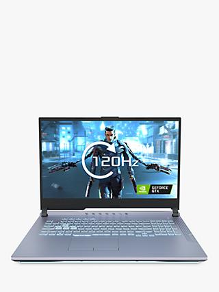 "ASUS ROG Strix G G731GU-H7253T Gaming Laptop, Intel Core i7 Processor, 16GB RAM, 1TB SSD, GeForce GTX 1660Ti, 17.3"" Full HD, Glacier Blue"