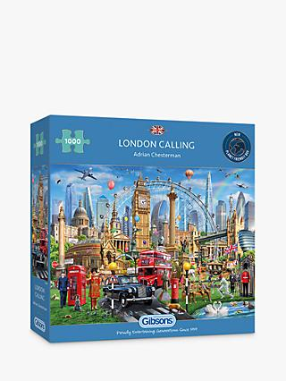 Gibsons London Calling Jigsaw Puzzle, 1000 Pieces